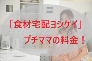 「ヨシケイ」プチママの料金