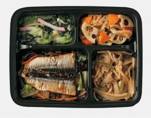 秋刀魚の野菜あんかけ