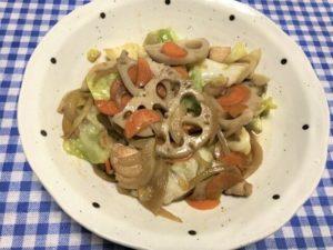 ヨシケイ 定番 鶏肉とレンコンのシャキシャキ炒め