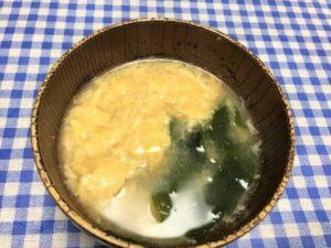 ヨシケイ 定番 かき玉みそ汁