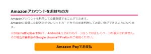 デトランスα(パースピレックス)脇用をAmazon Payで支払う
