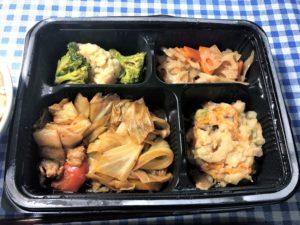 「ヨシケイ」ベジミールの回鍋肉弁当