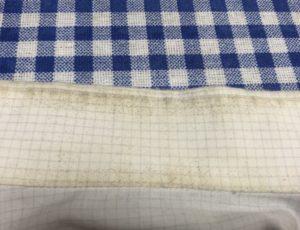 オキシクリーンで洗う前のワイシャツ
