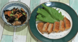 プチママ5日目:カジキマグロステーキカツ