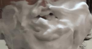 ホロベル「エッセンシャル保湿ウォッシュ」顔につける