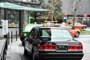 各タクシーアプリ「東京」での提携タクシー会社