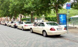 各タクシーアプリ「大阪」での提携タクシー会社