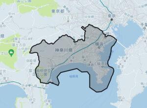 Uber Taxi(ウーバータクシー):横浜の対応エリア